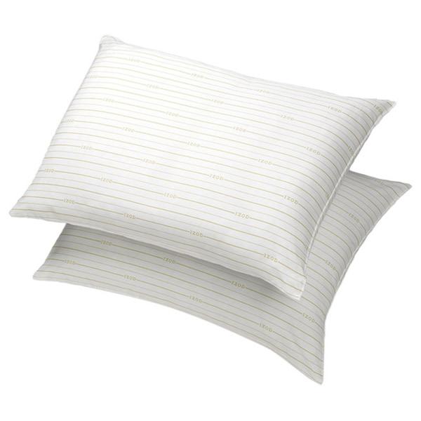 IZOD Signature Stripe Extra Firm Jumbo Pillow (Set of 2)