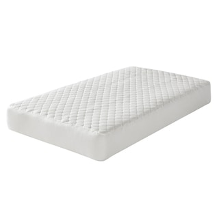 Greenbuds Organic Wool Quilted Crib Mattress Pad