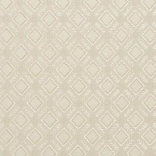E634 Diamond Ivory Silver Damask Upholstery Window Treatment Fabric