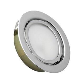 Cornerstone 3-inch Chrome Aurora 1-light Recessed Disc Light