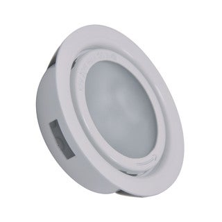 Cornerstone 3-inch White Aurora 1-light Recessed Disc Light