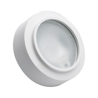 Cornerstone 3-inch White Aurora 1-light Xenon Disc Light
