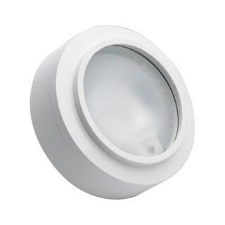 Cornerstone 3-inch White Aurora 1-light Xenon Disc Light
