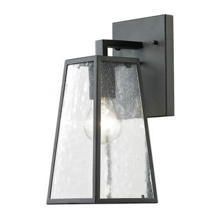 Cornerstone 5-inch Charcoal Mediterano 1-light Exterior Wall Mount