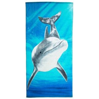 Sea Dolphin Beach Towel (Set of 2)