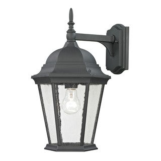 Cornerstone Black Matte Textured Temple Hill Coach Lantern
