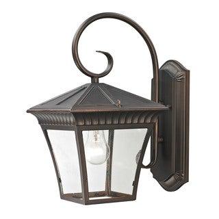 Cornerstone 9-inch Hazelnut Bronze Ridgewood 1-light Exterior Coach Lantern
