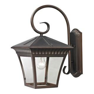 Cornerstone 11-inch Hazelnut Bronze Ridgewood 1-light Exterior Coach Lantern