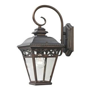 Cornerstone 7.5-inch Hazelnut Bronze Mendham 1-light Exterior Coach Lantern