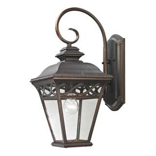 Cornerstone 9-inch Hazelnut Bronze Mendham 1-light Exterior Coach Lantern