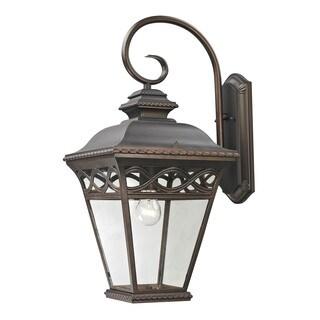 Cornerstone 10.75-inch Hazelnut Bronze Mendham 1-light Exterior Coach Lantern