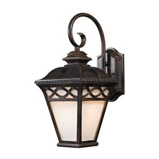 Cornerstone 16.38-inch Hazelnut Bronze Mendham 1-light Coach Lantern