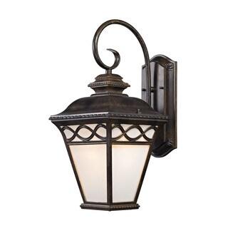 Cornerstone 19.25-inch Hazelnut Bronze Mendham 1-light Coach Lantern