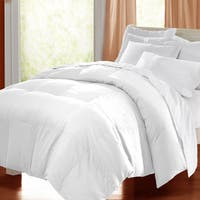 kathy ireland HOME Microfiber White Down Comforter
