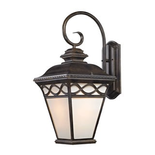Cornerstone 24-inch Hazelnut Bronze Mendham 1-light Coach Lantern