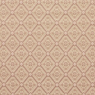 D136 Gold And Pink Diamond Brocade Upholstery Fabric