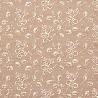 D142 Gold And Pink Floral Brocade Upholstery Fabric