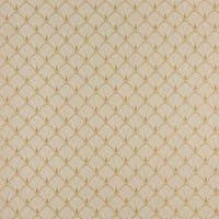 D310, Gold And Beige Fan Woven Jacquard Upholstery Fabric
