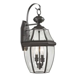 Cornerstone 10-inch Oil Rubbed Bronze Ashford 2-light Exterior Coach Lantern