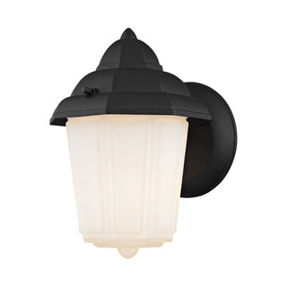 Cornerstone 6-inch Matt Black 1-light Outdoor Wall Sconce