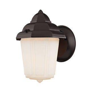 Cornerstone 6-inch Oil Rubbed Bronze 1-light Outdoor Wall Sconce