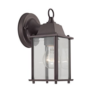 Cornerstone 5.75-inch Oil Rubbed Bronze 1-light Outdoor Wall Sconce