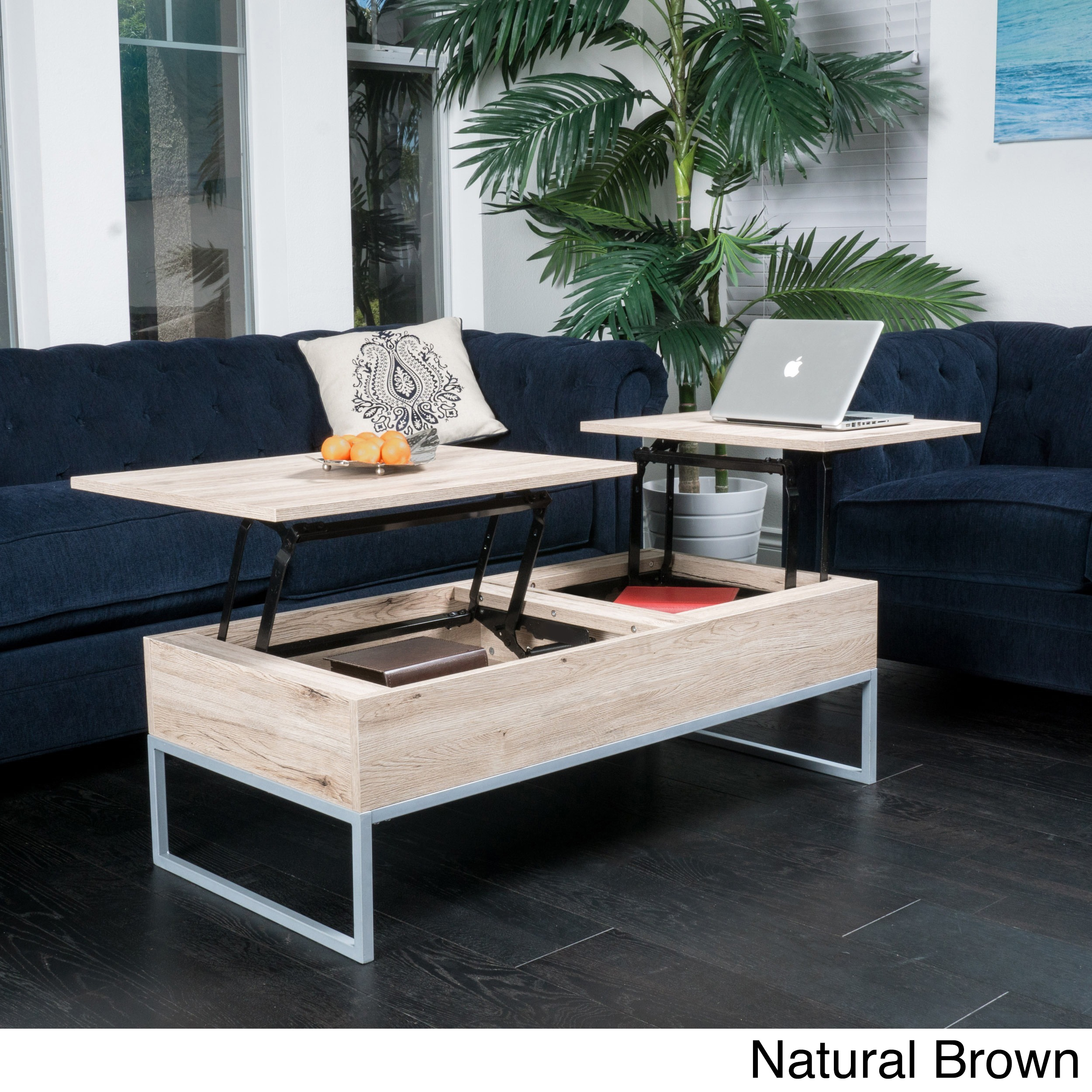 Lift top coffee table with storage Tables