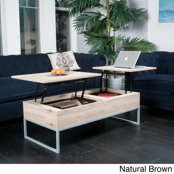 Christopher Knight Home Lift-top Wood Storage Coffee Table. Opens flyout.