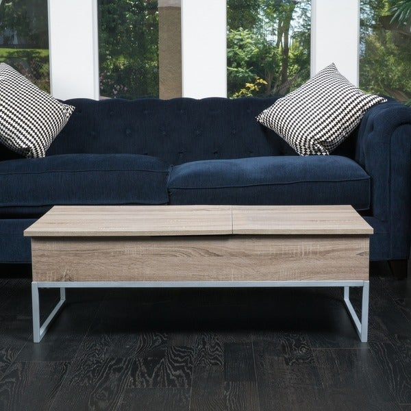 Christopher Knight Home Lift Top Wood Storage Coffee Table Free Shipping Today Overstock Com 17396009
