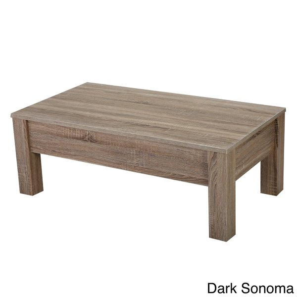 Wood LiftTop Storage Coffee Table by Christopher Knight Home