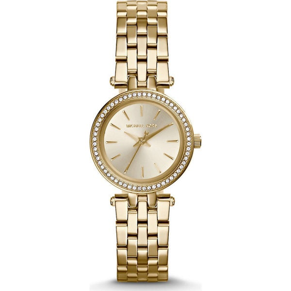 Michael Kors Women's MK3295 Mini Darci Round Gold-tone Bracelet Watch