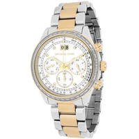 Michael Kors Women's  Brinkley Round Two-tone Bracelet Watch