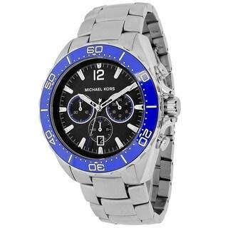 Michael Kors Men's MK8422 Winward Round Silvertone Bracelet Watch