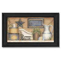 """Buttermilk Soap"" By Carrie Knoff, Printed Wall Art, Ready To Hang Framed Poster, Black Frame"