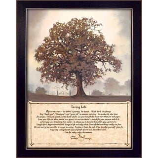 """""""Living Life"""" by Bonnie Mohr Printed Framed Wall Art"""