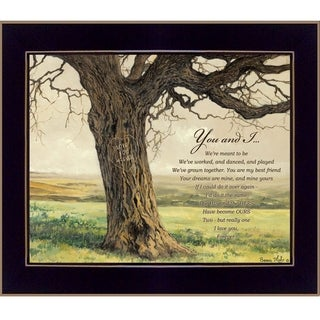 """Link to """"Forever"""" By Bonnie Mohr, Printed Wall Art, Ready To Hang Framed Poster, Black Frame Similar Items in Art Prints"""