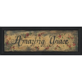 """Amazing Grace"" by Gail Eads Printed Framed Wall Art"