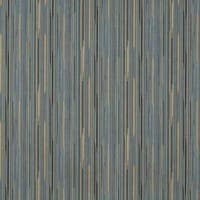 E223 Blue Gold Black Abstract Stripe Upholstery Fabric
