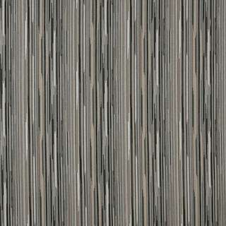 E230 Black Silver Beige Abstract Striped Contract Upholstery Fabric