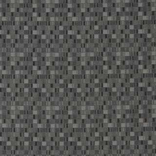 E252 Black Grey Small Scale Geometric Contract Upholstery Fabric