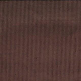 Dark Brown Corduroy Striped Velvet Upholstery Fabric