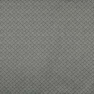 F760 Black And Silver, Geometric Heavy Duty Crypton Fabric