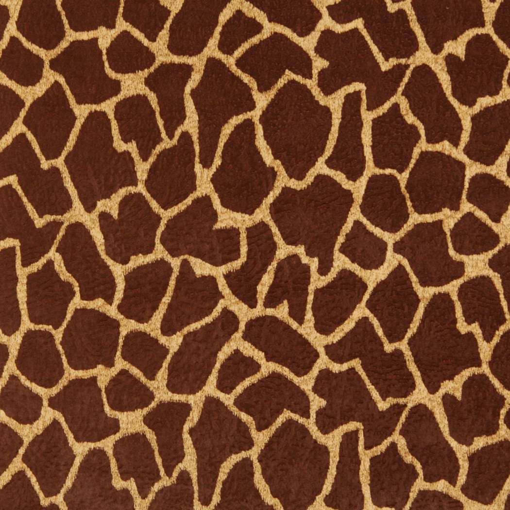 E404 Brown Giraffe Animal Print