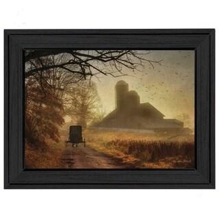 """Sunday Morning"" by Lori Deiter Printed Framed Wall Art"