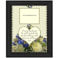 """From this Day"" By Trendy Decor4U, Printed Wall Art, Ready To Hang Framed Poster, Black Frame"