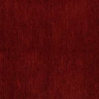 E474 Burnt Red Chenille Commercial Church Pew Upholstery Fabric