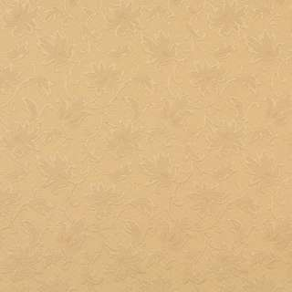 E503 Gold Floral Jacquard Woven Upholstery Grade Fabric