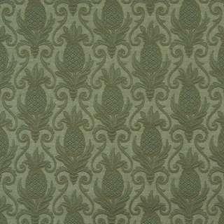 E525 Green Pineapple Durable Jacquard Upholstery Grade Fabric