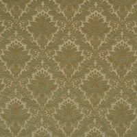 E542 Green Floral Durable Jacquard Upholstery Grade Fabric
