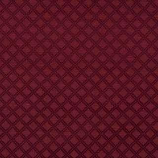 E545 Burgundy Diamond Durable Jacquard Upholstery Grade Fabric